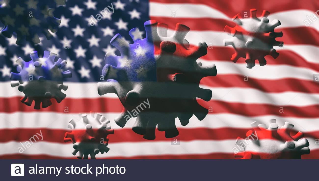 بحران شیوع ویروس کرونا سقوط اقتصاد آمریکا