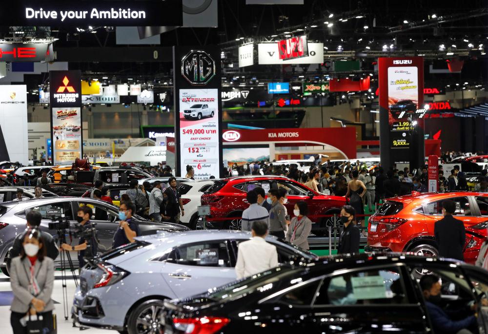 نمایشگاه خودرو در هنگ کنگ