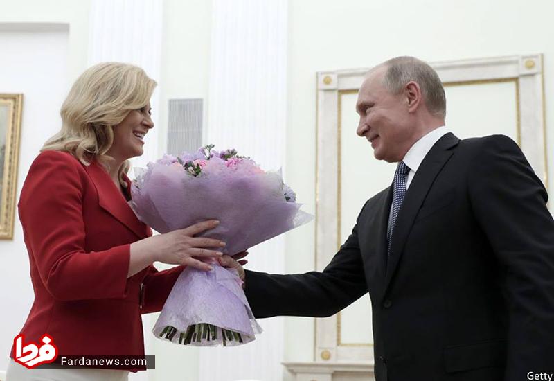 هدیه خاص پوتین به رئیسجمهور زن کرواسی