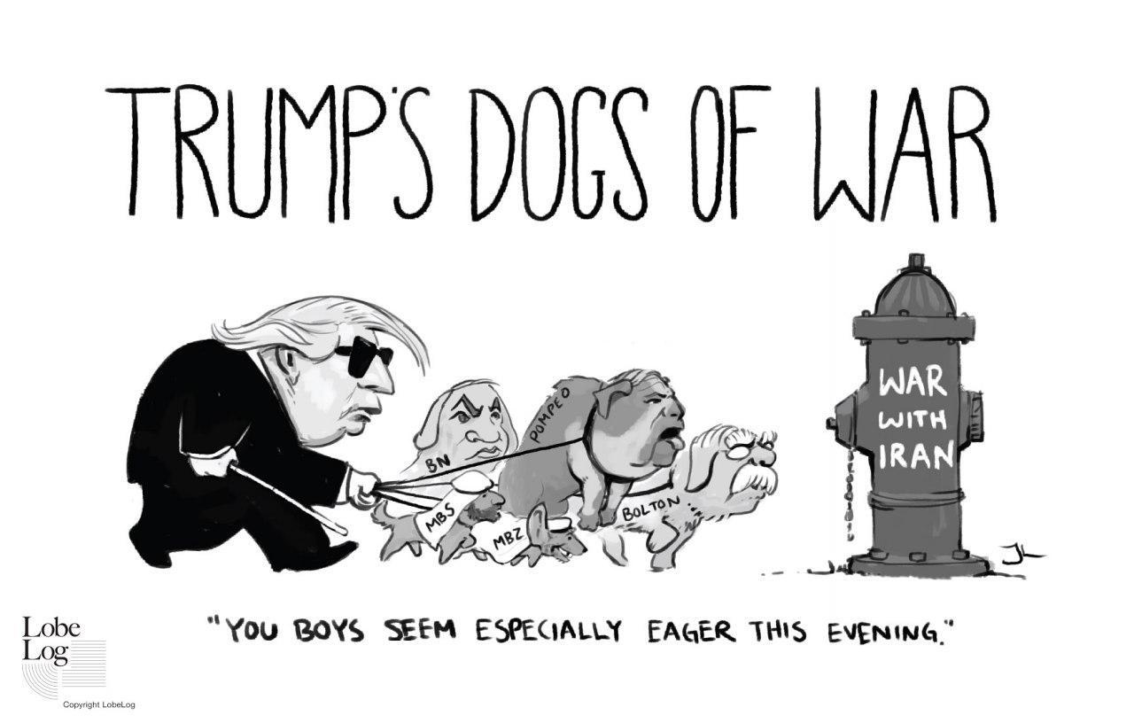سگهایجنگی ترامپ