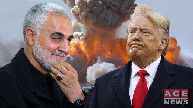 دونالد ترامپ و قاسم سلیمانی