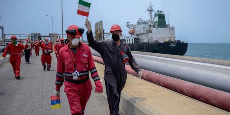 فروریزی سقف هژمونی آمریکا توسط نفتکشهای ایرانی