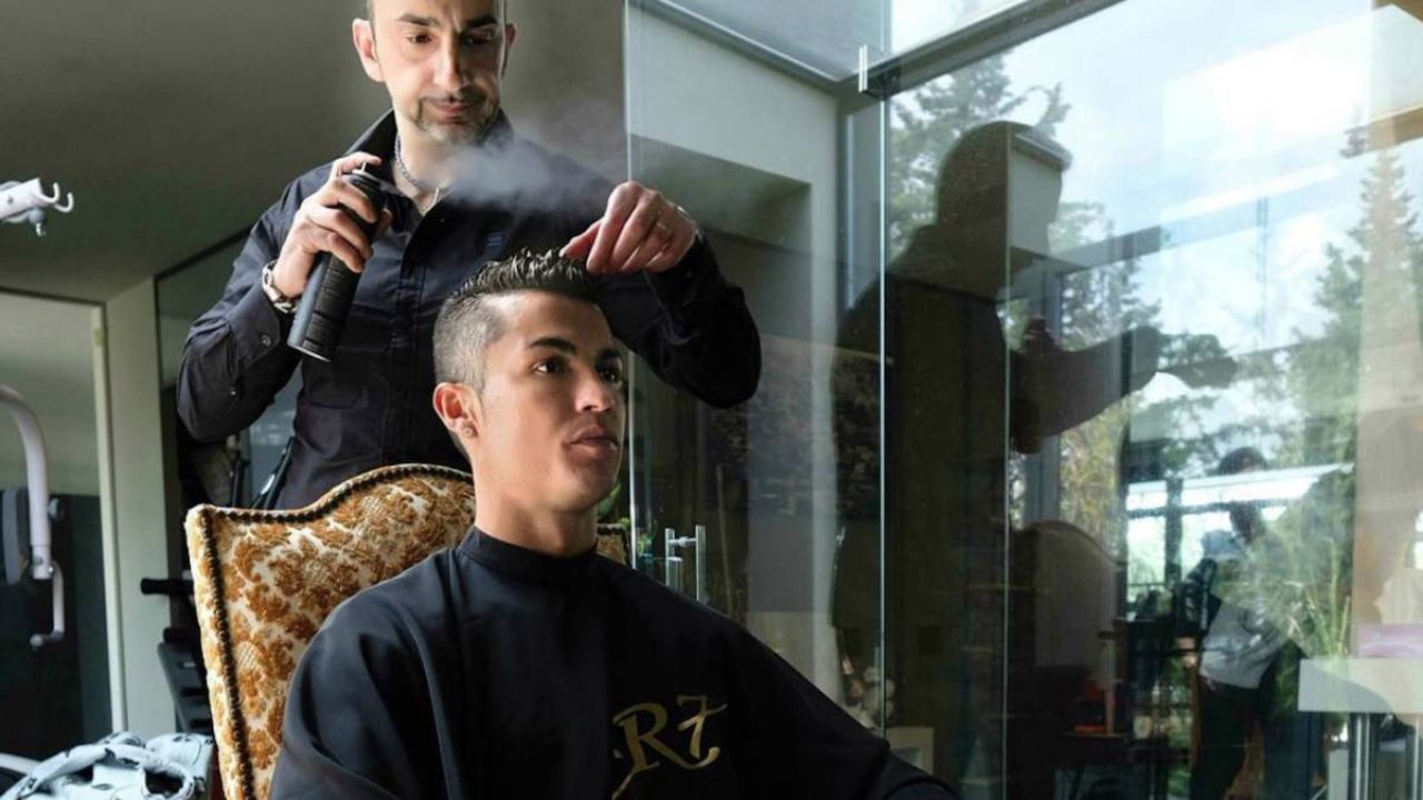 آرایشگر رونالدو