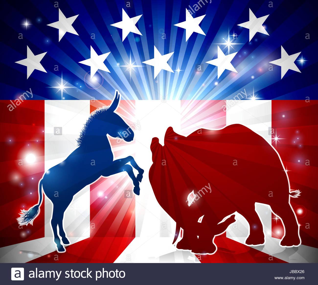 دموکرات و جمهوریخواه