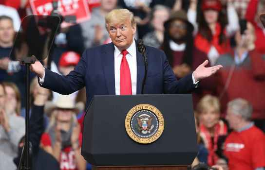 دونالد ترامپ  / انتخابات آمریکا ۲۰۲۰ / رئیسجمهور ایالات متحده