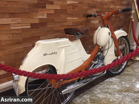 موتور سیکلت کمیاب آلمانی در تهران