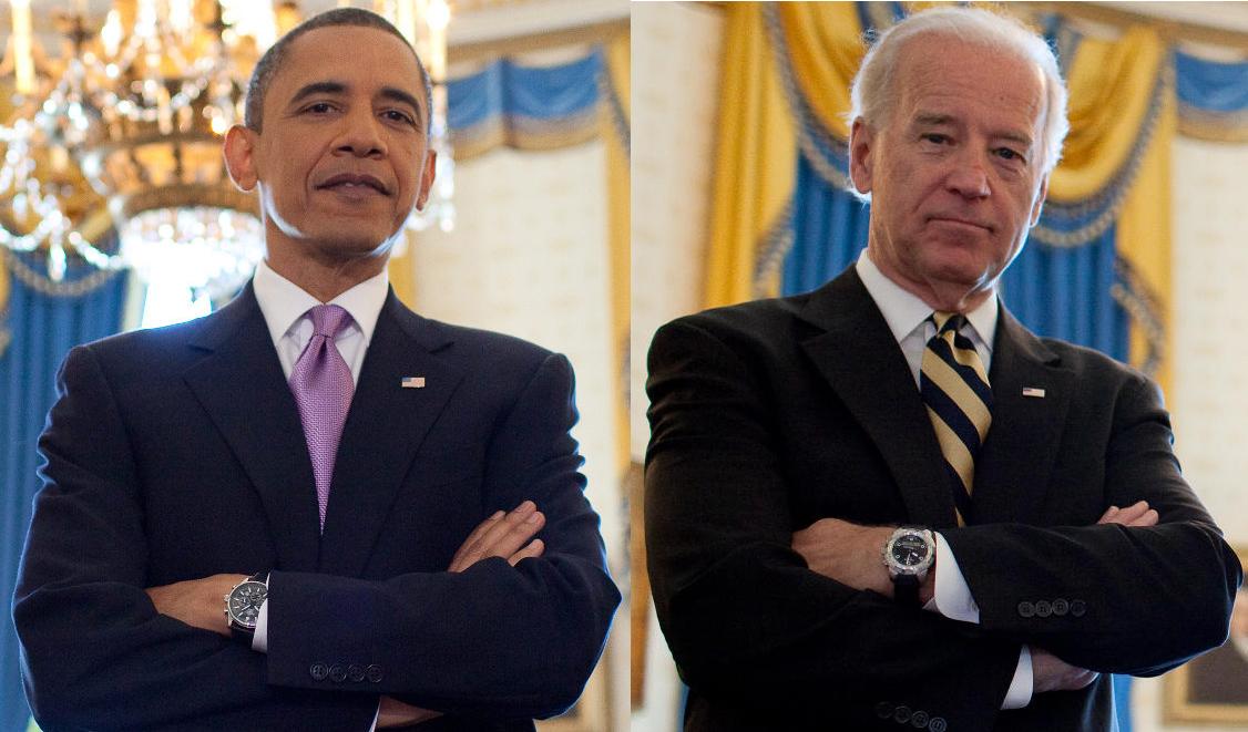 اوباما و بایدن