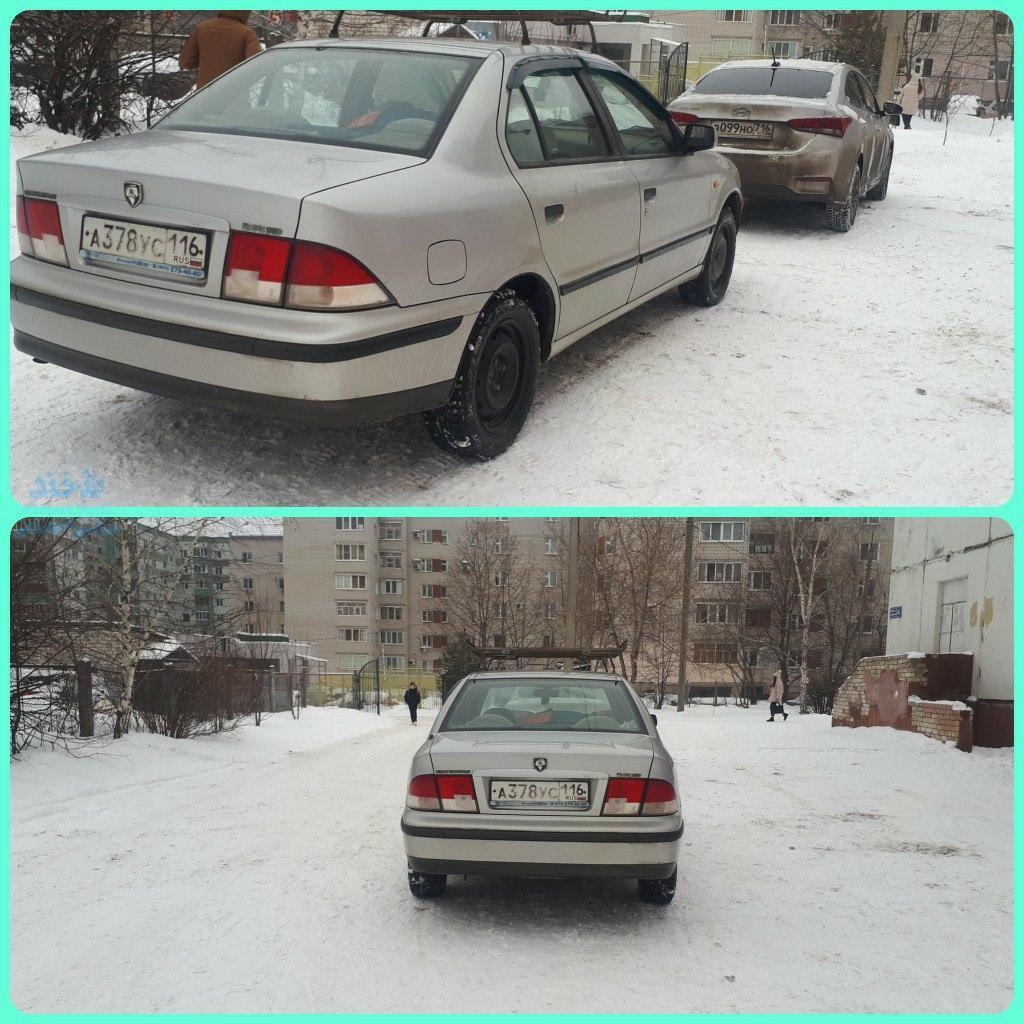 سمند در روسیه