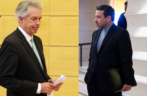 با پایان مذاکره با اشمید، عراقچی با برنز دیدار کرد