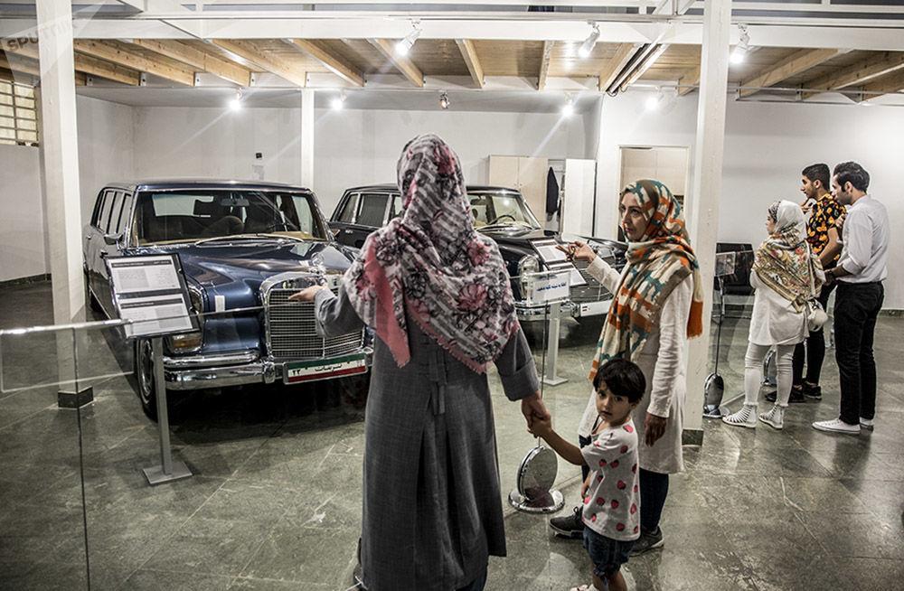 کلکسیون خودروهای محمدرضا پهلوی