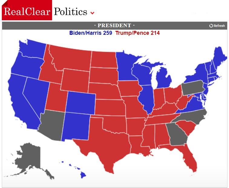 نقشه انتخابات