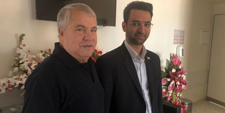 علی پروین و آذری جهرمی