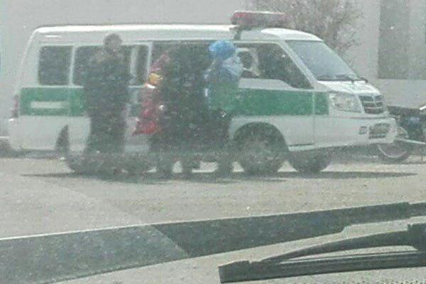 دستگیری دختران اطراف استادیوم آزادی