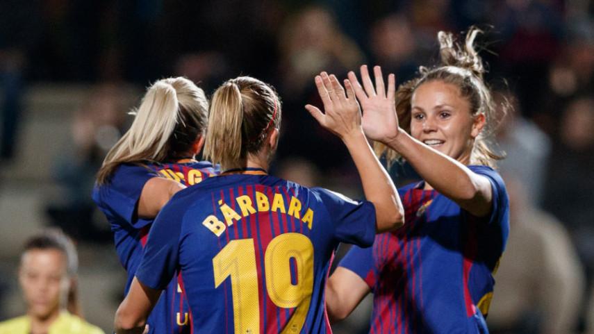 تیم فوتبال دختران بارسلونا