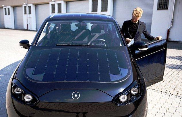 خودروی برقی با تکنولوژی های جالب