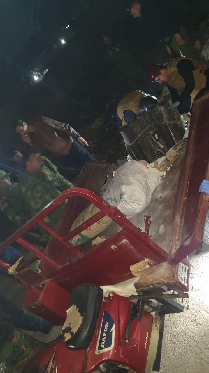 کشف محل شلیک راکت به منطقه سبز بغداد +تصاویر