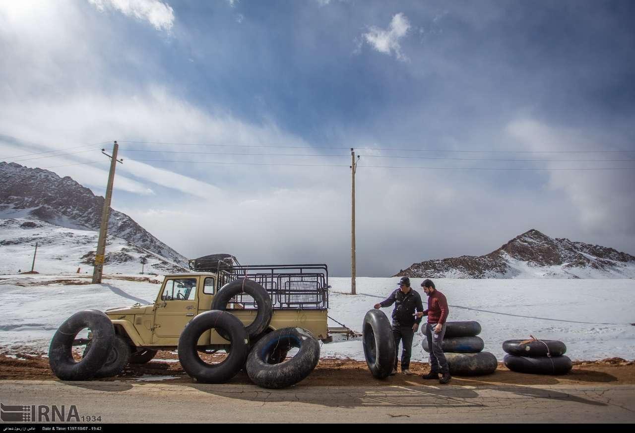 اجاره تیوپ برای اسکی