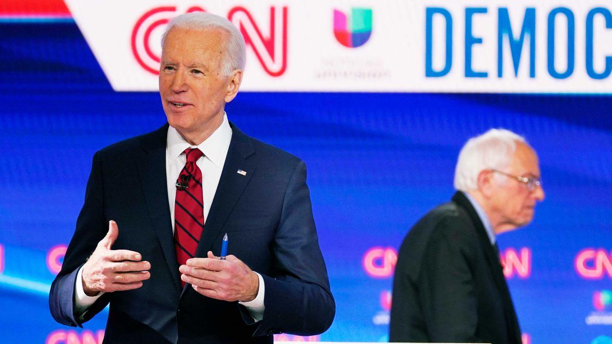 اولین مناظره انتخاباتی «جو بایدن» و «برنی سندرز»