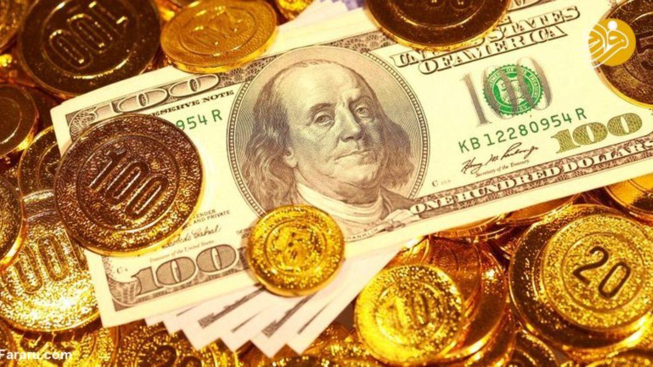 دلار و سکه