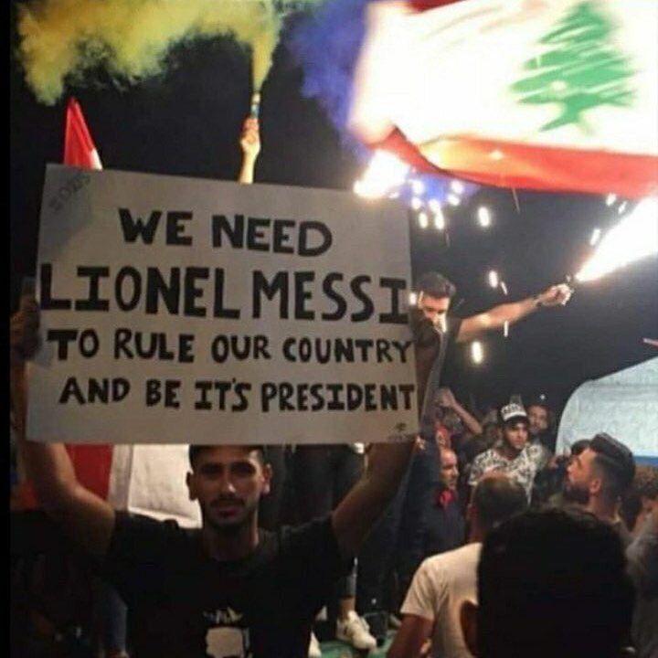 تقاضا برای رییس جمهور شدن لیونل مسی