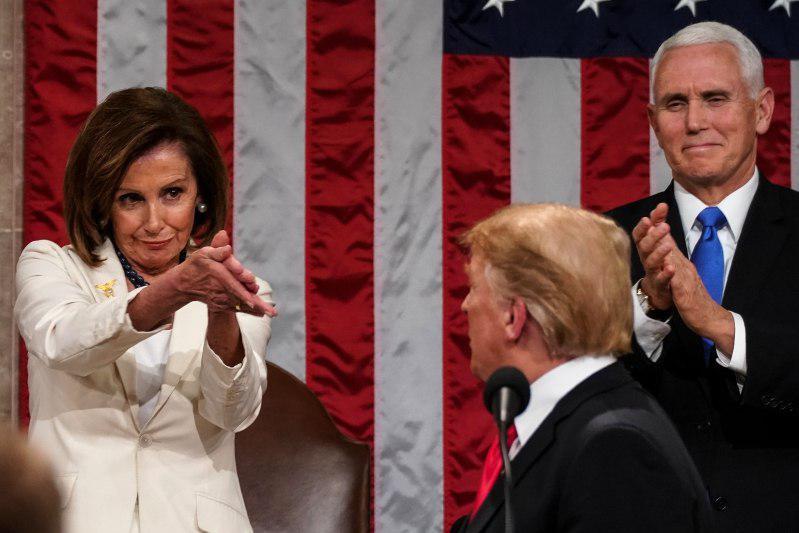 ترامپ و پلوسی