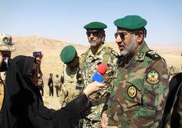 مانور ارتش در مرز ایران و کردستان عراق آغاز شد + عکس