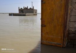 تصاویری از مناطق سیل زده زابل