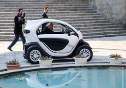 بازدید رئیس جمهور از خودروهای برقی ساخت داخل
