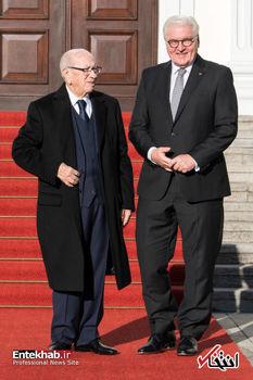 اقدام عجیب رئیسجمهور تونس در آلمان+عکس