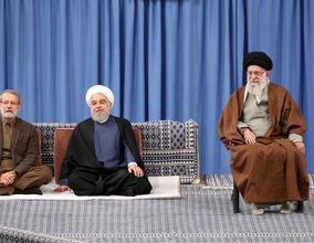 تصاویر دیدار مسئولان نظام، مهمانان کنفرانس وحدت و سفرای کشورهای اسلامی با رهبری