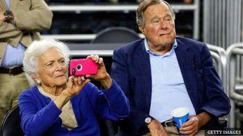 تصمیم جدید مادر جرج بوش پسر+عکس