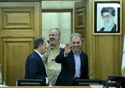 محمدعلی نجفی حکم شهرداری را از وزیر کشور تحویل گرفت + عکس