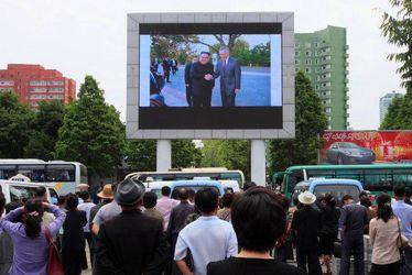 تصاویر دیدنی از دیدار ترامپ و کیم جونگ اون