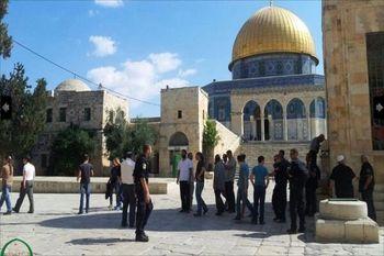فلسطینیها هیأت اماراتی را از مسجدالاقصی بیرون کردند