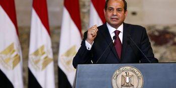 استقبال رئیس جمهور مصر از توافق امارات با رژیم اشغالگر قدس