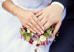 برگزاری مراسم ازدواج 2 پزشک در قلب کرونا + عکس
