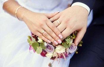 ازدواج به سبک کرونایی هم  انجام شد ! +عکس