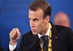 سرکار گذاشتن عجیب رییس جمهور فرانسه