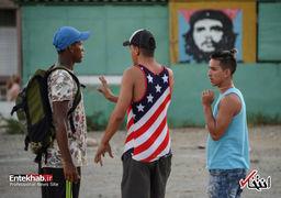 رد پای امپریالیسم در قلب سوسیالیسم؛ پرچمهای آمریکا در کوبا