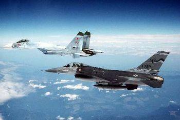 حمله جنگندههای آمریکایی به کاروان نیروهای نظامی سوریه