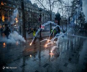 تصاویر جدید از اعتراضاتِ جنبش ضد سرمایه داری در فرانسه