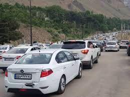 آخرین وضعیت ترافیک جاده هراز