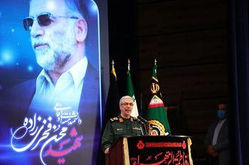 سرلشکر باقری: انتقام شهید فخریزاده قطعی است