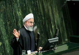 روحانی در مجلس: بودجه ۹۹، بودجه ایستادگی و استقامت در برابر تحریم است