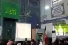 امام جمعه سوادکوه به زبان انگلیسی ترامپ را تهدید کرد / فیلم