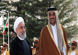مذاکرات خصوصی روحانی و امیر قطر