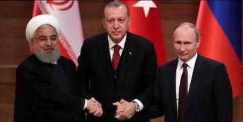 نشست مجازی روسای جمهور ایران، ترکیه و روسیه