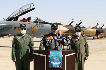 حمله هواپیماهای جنگنده ارتش به اهداف زمینی/ جزئیات مهم از نهمین رزمایش فدائیان حریم ولایت