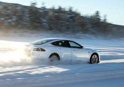 صاحبان خودروهای برقی در زمستان با مشکل مواجه می شوند؟