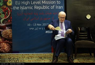 نشست خبری کمیسیونر کشاورزی و توسعه روستایی اتحادیه اروپا